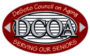 DESOTO COUNCIL ON AGING, INC., Logo